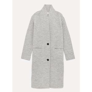 Aritzia Wilfred 100% Wool Coat Dujardin Gray